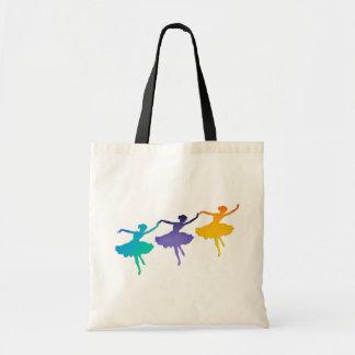 Three Dancers Tote Bag