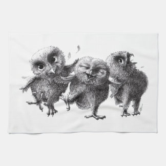 Three emergency Angry Birds Tea Towel