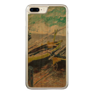 Three Fishing Boats by Claude Monet Carved iPhone 8 Plus/7 Plus Case