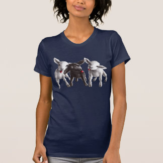 Three Funny Cheeky Sheep T-Shirt