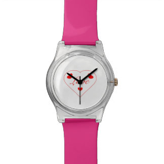 Three Hearts Women's Watch