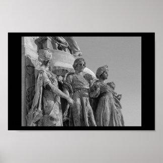 Three Ladies of Mont-Royal Poster