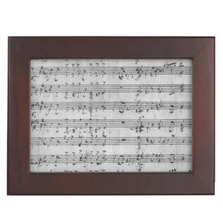 Three Lieder Memory Boxes