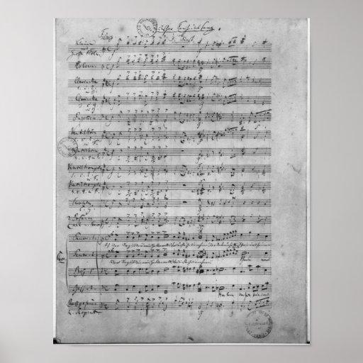 Three Lieder Print
