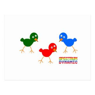 Three Little Birds Postcard