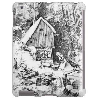 Three Little Men vintage ipad case