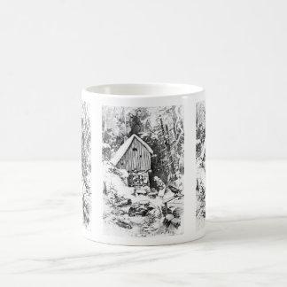 Three Little Men vintage mug