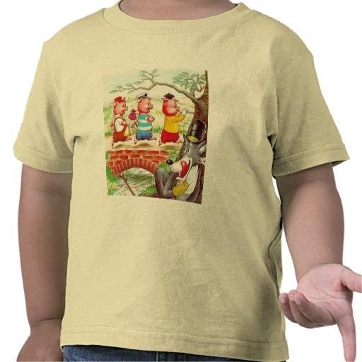 Three Little Pigs Shirt