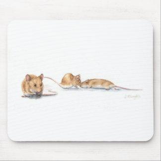 Three Mice Mouse Pad