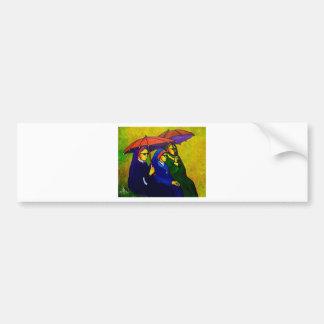 Three Nuns by piliero Bumper Sticker