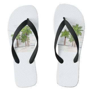 THREE PALMS Flip-Flops Jandals