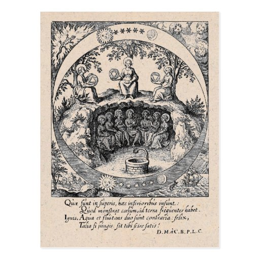 Three Sisters of Alchemy Postcard