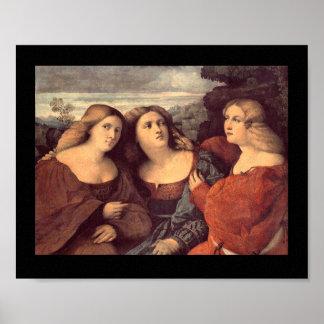 Three Sisters Poster Print