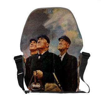 Three Umpires Courier Bag