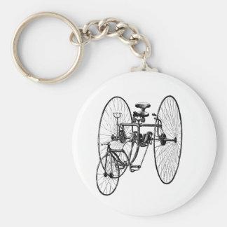 Three Wheel Bicycle Tricycle Key Ring