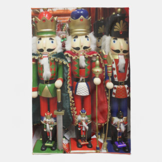Three Wise Crackers - Nutcracker Soldiers Hand Towels
