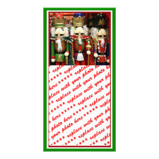 Three Wise Crackers - Nutcracker Soldiers Photo Card Template