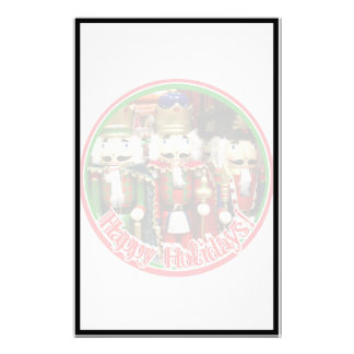 Three Wise Crackers - Nutcracker Soldiers Stationery Design