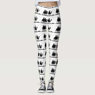 Three Wise Men Christmas Leggings