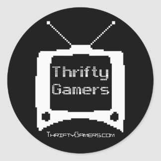 Thrifty Gamers stickers - Large