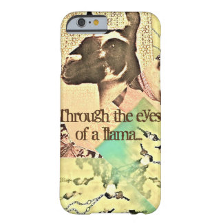 Through the eyes of a llama... barely there iPhone 6 case