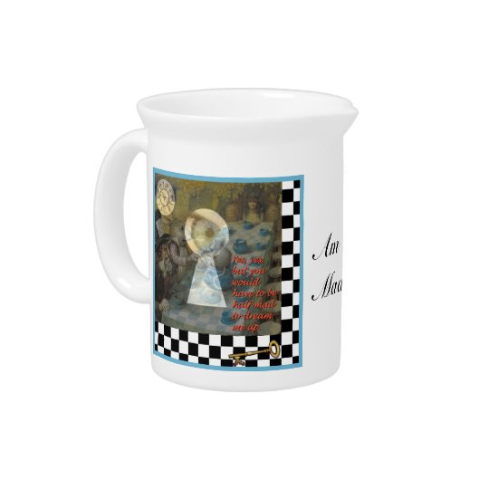 Through the Keyhole Beverage Pitchers