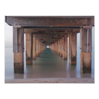 Through the Pier Photographic Print