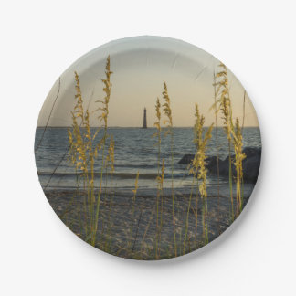 Through The Sea Oats 7 Inch Paper Plate