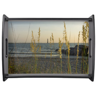 Through The Sea Oats Serving Platters