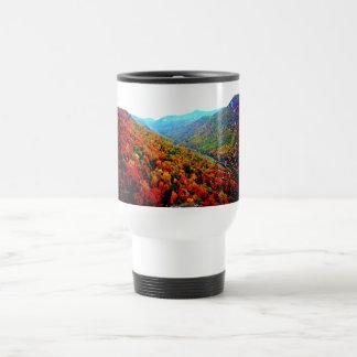 Through The Smokey Mountain Range Stainless Steel Travel Mug