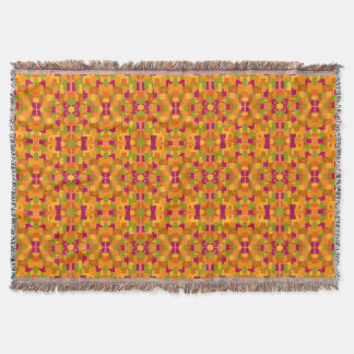 Throw Blanket Autumnal Patch 2A Fractal