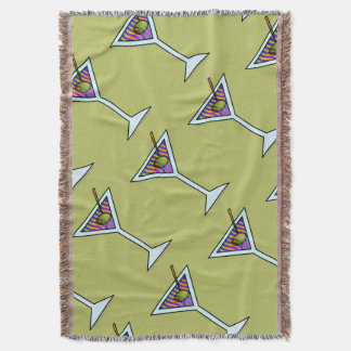 THROW BLANKET - MARTINI DESIGN