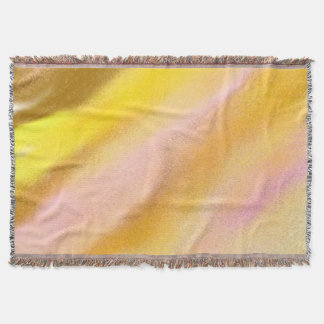 Throw Blanket Sun Lake Abstract Art Design