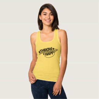 Throw Happy Track and Field Tank Top
