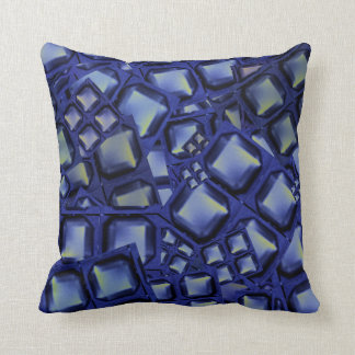 Throw Pillow blue buttons Love Romance gifts