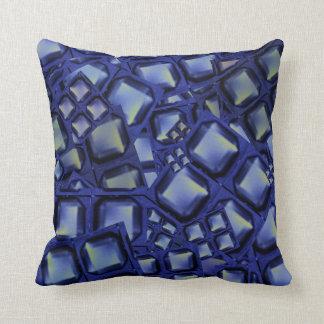 Throw Pillow blue buttons Love Romance gifts Throw Cushion