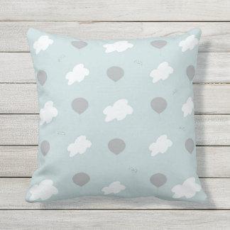 Throw Pillow Cloud Pattern