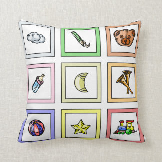 Throw Pillow for Baby's Room