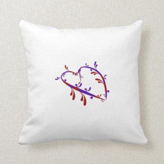 Throw Pillow Heart Throw Cushions