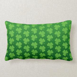 Throw Pillow-St. Patrick's Day Lumbar Cushion