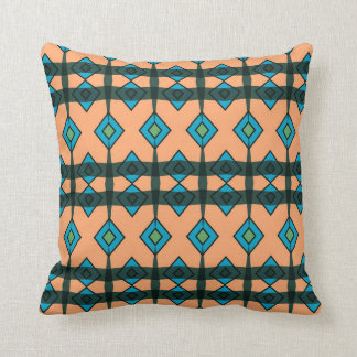 Throw Pillow with Southwestern Abstract