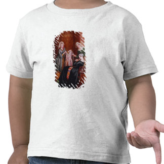 Throwing off her weeds t-shirt