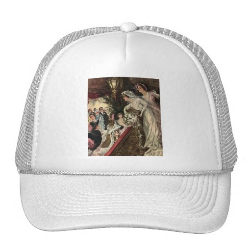 Throwing the Bouquet Mesh Hats