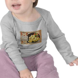 Thurber Muscat Grapes - Vintage Crate Label T Shirt