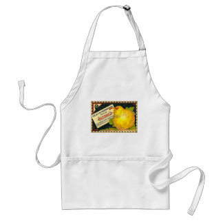 Thurber Pears Vintage Crate Label Adult Apron