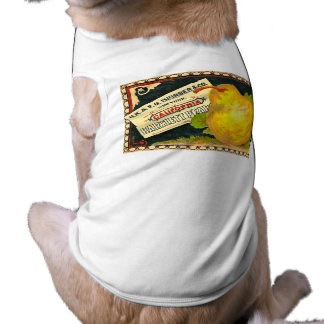 Thurber Pears Vintage Crate Label Doggie Tshirt