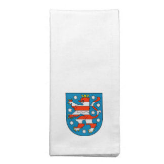 Thuringia coat of arms napkin
