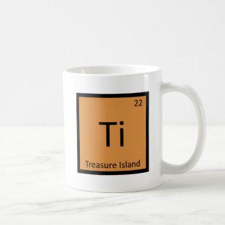 Ti - Treasure Island Chemistry Periodic Table Basic White Mug