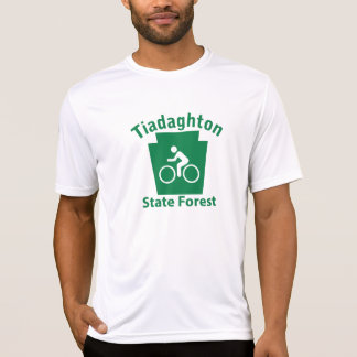 Tiadaghton SF Bike - Men's Microfiber T T-Shirt