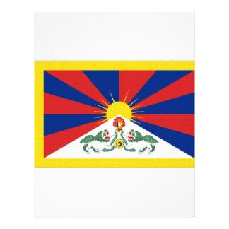 Tibet Flag 21.5 Cm X 28 Cm Flyer